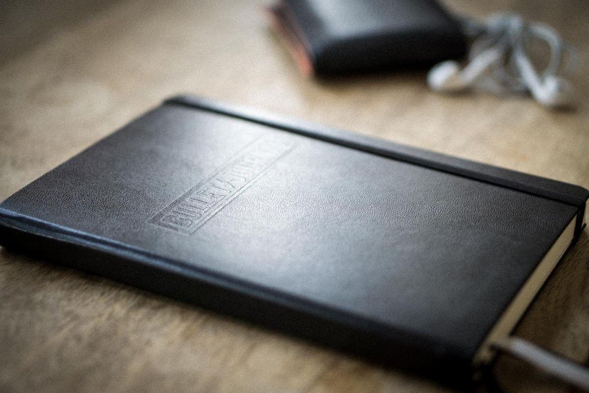 Het originele bullet journal notebook